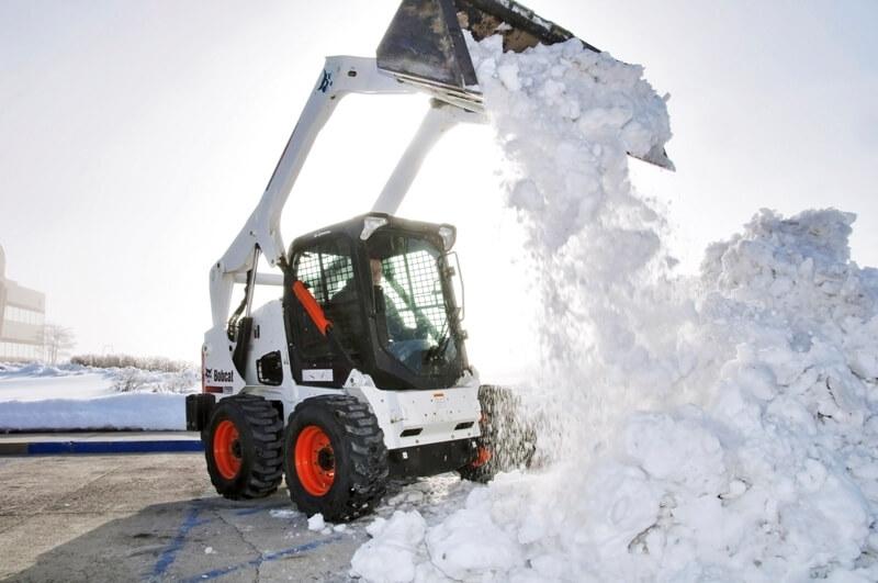 Скребок для уборки снега фанера